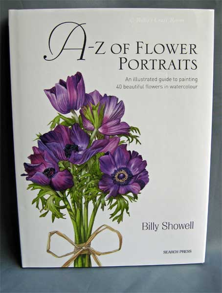 A - Z of Flower Portraits Book by Billy Showell