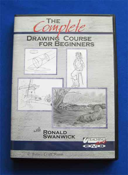 Ronald swanwick's Complete Drawing Course for Beginners; DVD