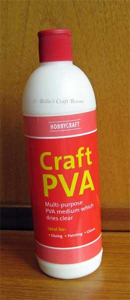 Hobby Craft: Craft PVA