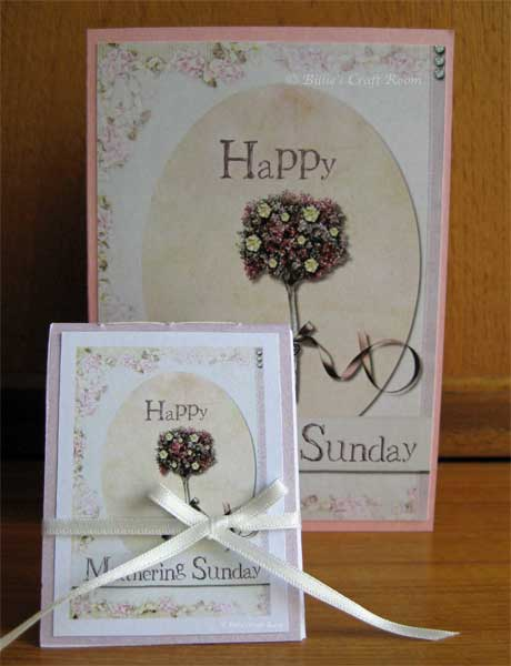Mother's Day Card and Mini Book