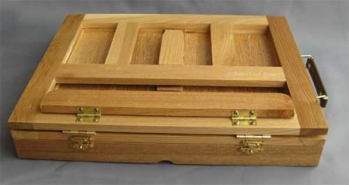 Avon Box easel; closed