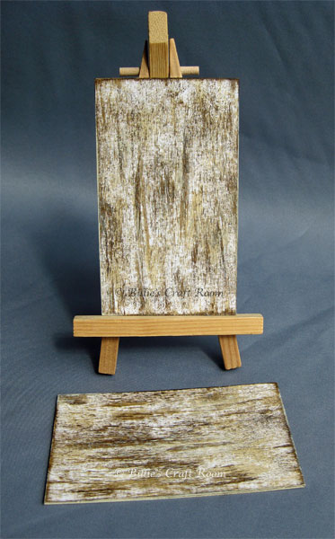 Weathered Wood Paint Effect