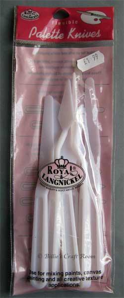 Royal Langnickel Flexible Palette Knives