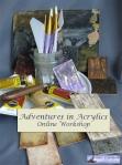 Adventures in Acrylics: Online workshop