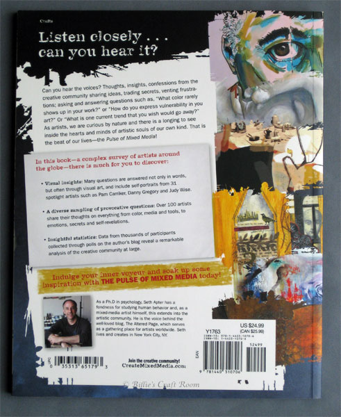 The Pulse of Mixed Media by Seth Apter (Back Cover)