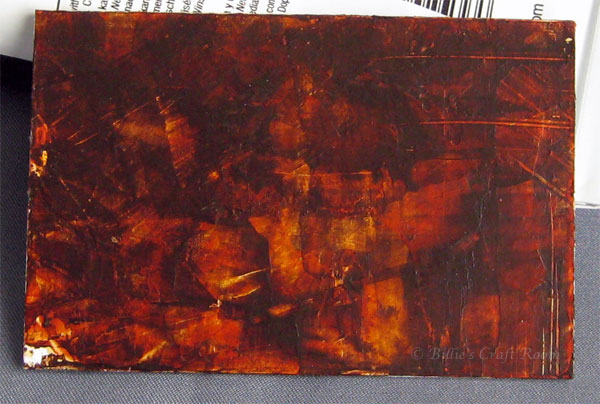 Video tutorial dark wood paint effect billie 39 s craft room for Acrylic paint effects