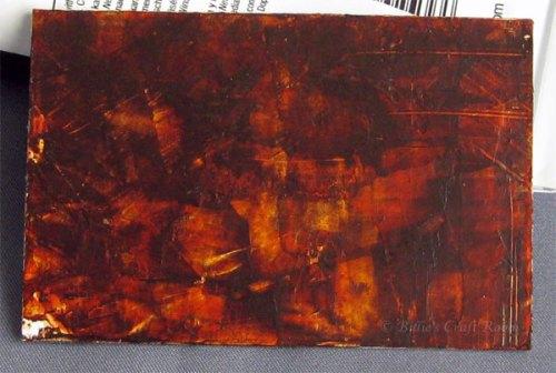 Dark Wood paint effect for Adventures in Acrylics