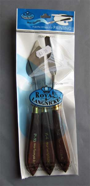 Royal Langnickel Knife set #LP71