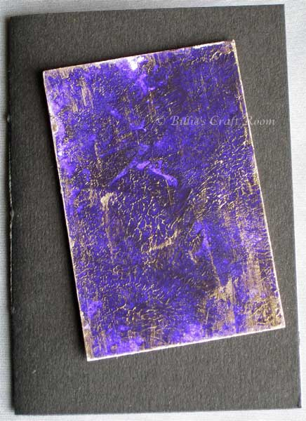 Distressed Purple book, check out the gold.