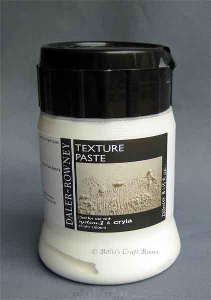 Daler Rowney; Texture Paste