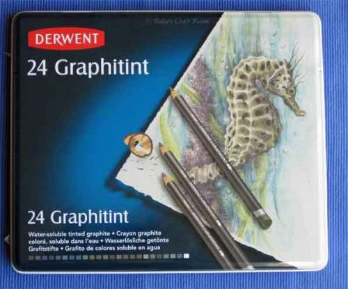 Derwent: Graphitint Pencils. Tin of 24