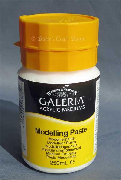 Winsor & Newton: Galeria; Modelling Paste. Acrylic Medium