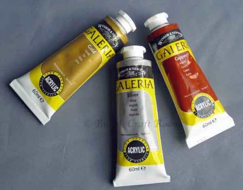 Winsor & Newton, Galeria Metallic colours