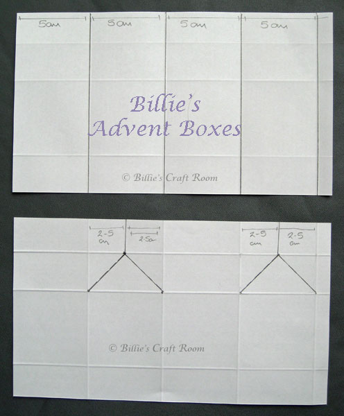 Billie's Advent Calendar Boxes