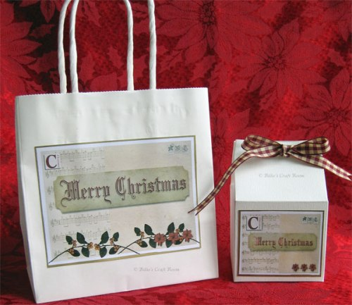 Holiday gift Bag 2012