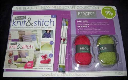 Bergere De France: Knit & Stich, Issue 1