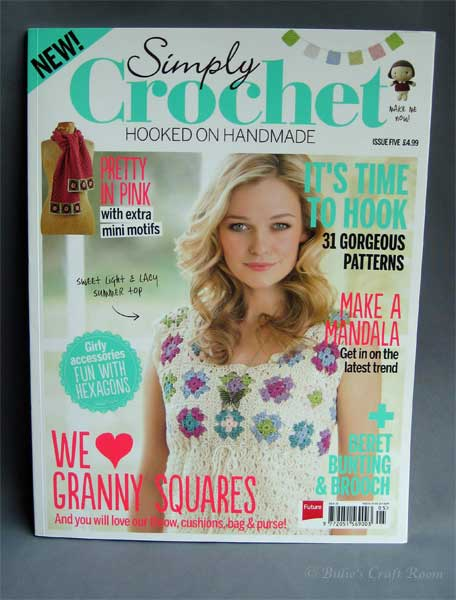 Simply Crochet Hooked on Handmade. Magazine