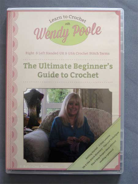 Learn To Crochet with Wendy Poole DVD