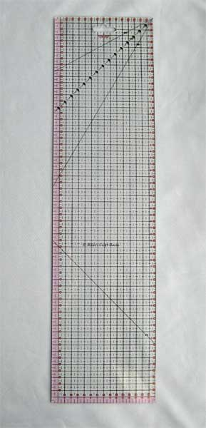 Fiskars Patchwork ruler 15 x 60 cm