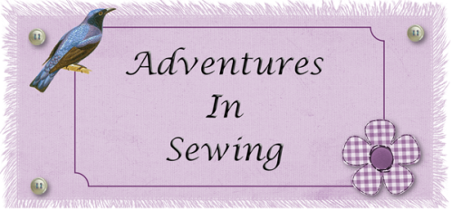 Adventures in Sewing Logo