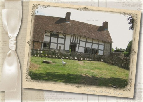 Shakespeare Collection: Mary Arden's Farm; card