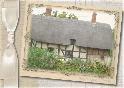 Shakespeare Collection: Anne Hathaway's Cottage; Card
