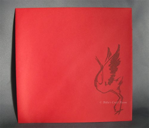 I will Write Peace Upon Your Wings; Envelope
