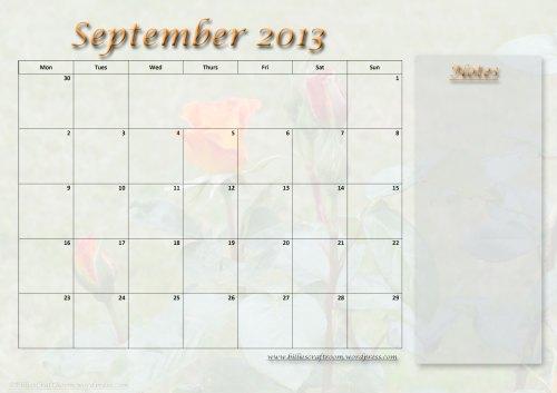 Calendar-September-2013