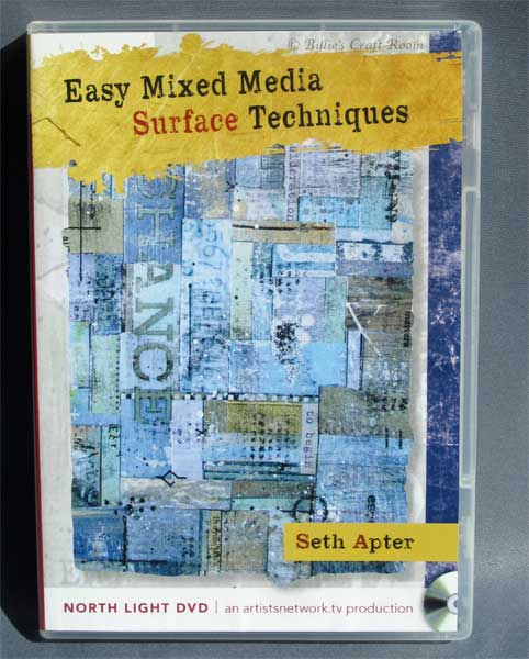 Seth Apter DVD: Easy Mixed Media; Surface Techniques