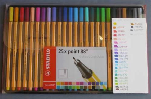 Stabilo Point 88 Pens