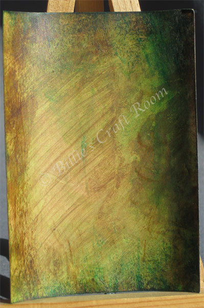 Earth tones & grunge, lots of layers for mixed media joy