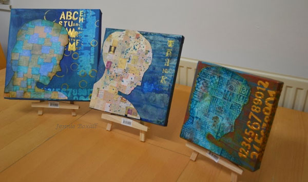Jennie Boxall's 3 Canvases