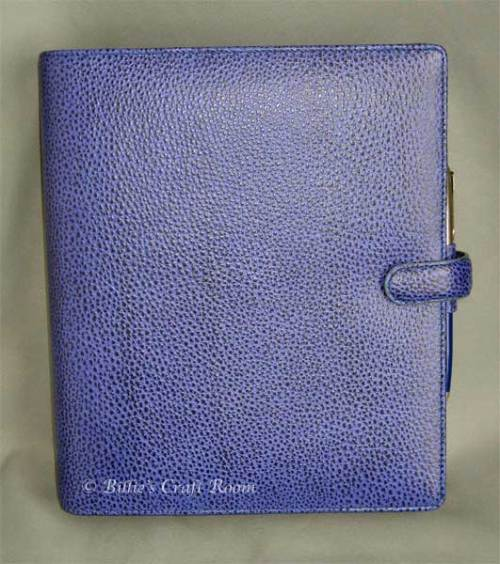 Filofax Finsbury A5 in Electric blue