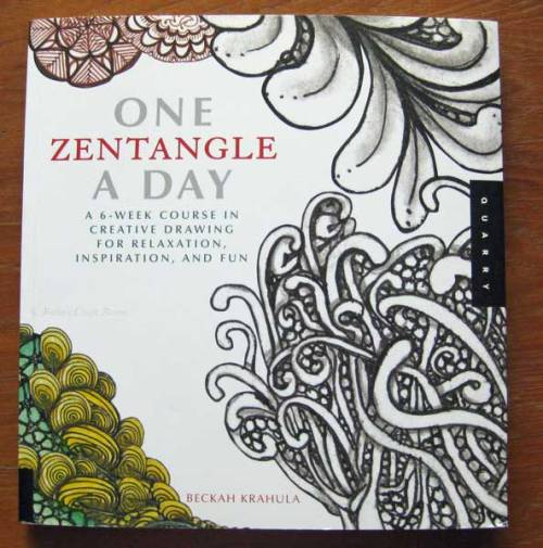 One Zentangle a Day book.