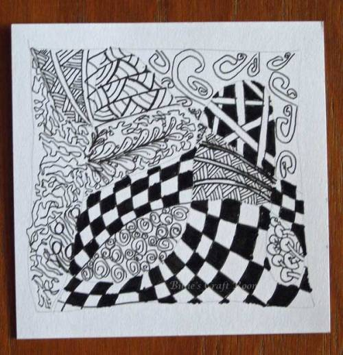 Getting Tangled with Zentangle