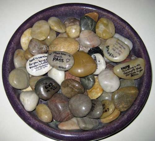 Thought Stones/ Meditation stones