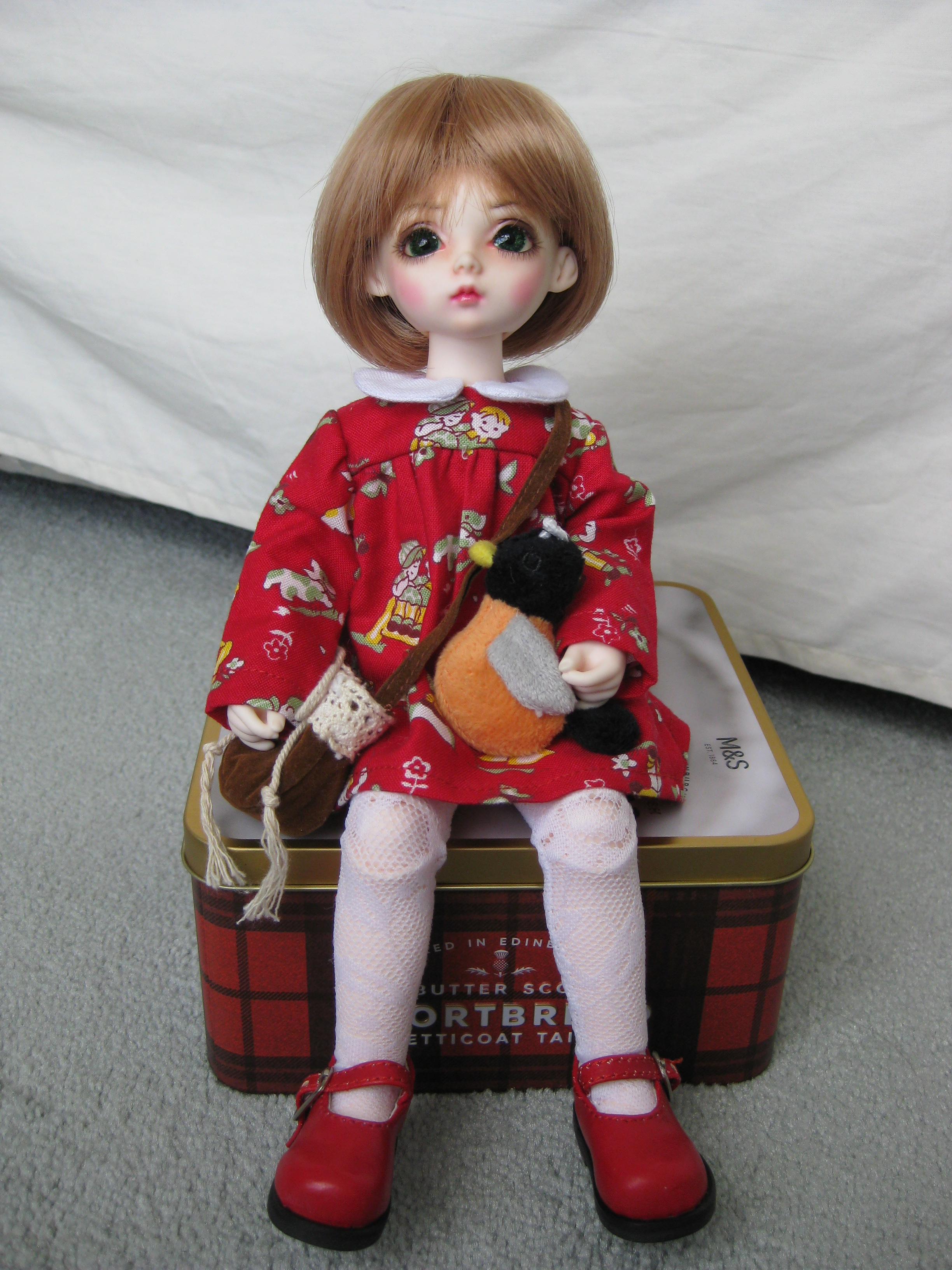 Ellie Grace, new red Dress