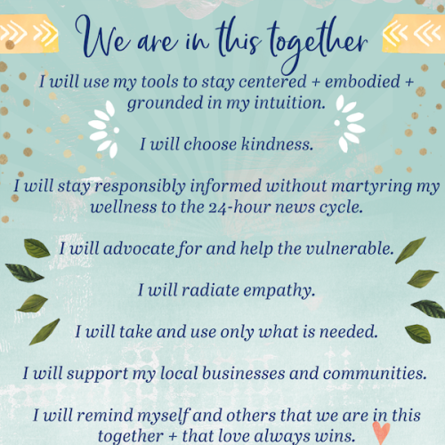 we are all in this together by Kelly Rae Roberts