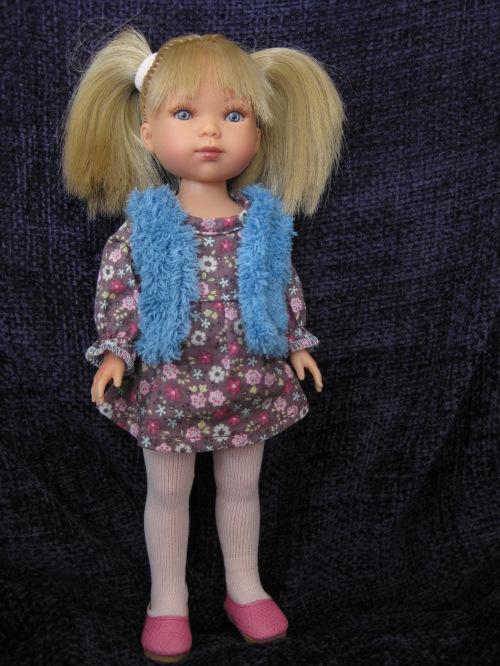 Vestida de Azul Carlotta