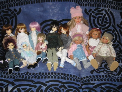 Showing 12 dolls, bjds and Wichtel dolls